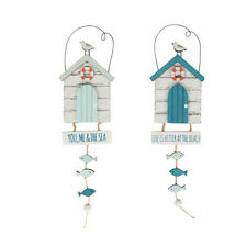 Sass and Belle Seaside Sayings beach hut Hanging Decoration. ONE SIGN
