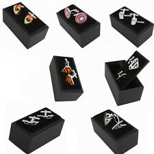 US Superhero retro Cuff Links  jewelry wedding Party mens novelty cufflinks