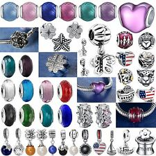 Fashion Fine Handmade New Bead 925 Silver Charms Fit Genuine Sterling Bracelets