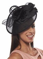 The Columbia Room Sinamay Fascinator Cocktail Hat
