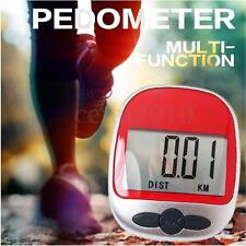 Mini LCD Digital Pedometer Walking Run Step Calorie Distance Calculation Counter