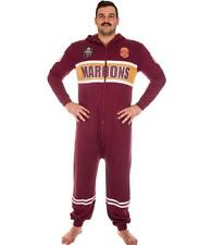 QUEENSLAND MAROONS STATE OF ORIGIN TEAM ADULT ONESIE FOOTBALL FOOTYSUIT UNISEX