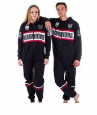 NEW ZEALAND WARRIORS NRL TEAM ADULT ONESIE FOOTBALL FOOTYSUIT UNISEX PYJAMAS
