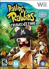 Nintendo Wii Raving Rabbids Travel in Time Party Video Game Motion Plus
