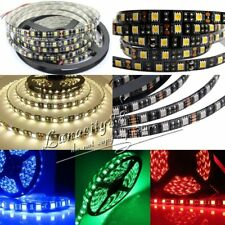 5050 SMD Black PCB Board LED Strip 300leds Waterproof IP65 Flexible Light RGB