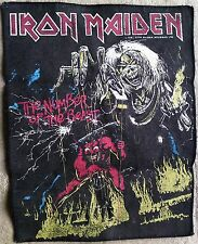 Rare Original 1982 Iron Maiden