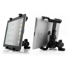 "Microphone Music Motorcycle Bike Bicycle Mount Stand Holder For 7-11"" Tablet PC"