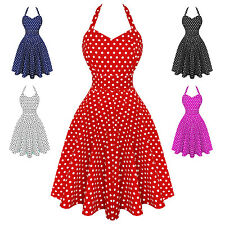 Dolly & Dotty Penny Polka Dot Retro Vintage 1950s Party Summer Sun Pinup Dress