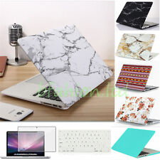 UK Bundle Rubberized Hard Case + Keyboard Cover + Screen Protector Apple Macbook