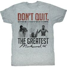 T-Shirts Sizes S-2XL New Authentic Mens Muhammad Suffer Now T-Shirt Cassius Clay
