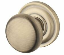 Baldwin Round Privacy Knob Set - Split Finishes Available