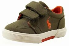 Polo Ralph Lauren Toddler Boy's Faxon II EZ Olive Fashion Sneaker Shoes