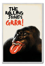 The Rolling Stones Grrr! Greatest Hits Magnetic Notice Board Includes Magnets
