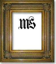 Antique-Gold Solid Wood Frame for Picture/Photo/Poster/Diploma, #632
