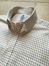 BNWOT J. C. CORDINGS & CO LTD TATTERSALL COUNTRY CHECK SHIRT 15.5 COST £95