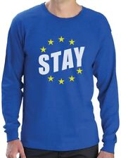 Vote Stay Euro Stars EU Referendum Political Statement Long Sleeve T-Shirt