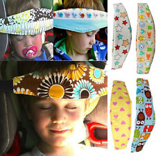 Safety Baby Kids Stroller Car Seat Sleep Head Support Holder Belt Cover Pillows