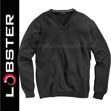 Lobster FUNKY Fashion 100% Cotton BLACK Golf Jumpers/Sweaters now just £17.99