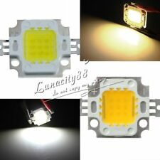 10W LED CHIPS Cool / Warm White Super Bright High Power SMD Lamp For Flood Light