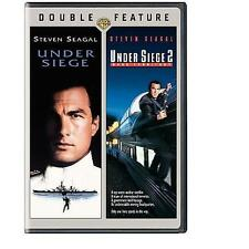 Under Siege/Under Siege 2: Dark Territory (DVD, 2008) Movie Steven Seagal
