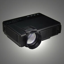 3D 1080P HD 1200 Lumens LED Projector Home Theater USB TV Business VGA/HDMI LOT