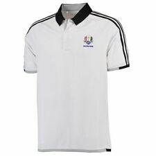 Men's adidas White/Black 2016 Ryder Cup 3-Stripe climachill Compeition Polo