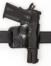 Leather Gun Holster For 1911 Colt Beretta Bersa Boberg Caracal CZ FN Glock Kahr