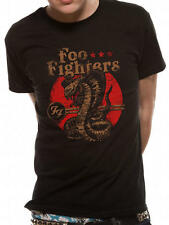 Foo Fighters T Shirt Cobra Official Black Mens Dave Grohl Sonic Highways NEW