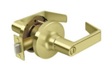 Privacy Door Lock Set Grade 1 Commercial Lever Keyed in 3 Finishes By FPL Door