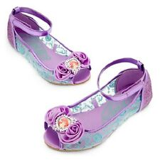 NWT NEW DISNEY STORE ARIEL LITTLE MERMAID COSTUME SHOES SPARKLE SPRING 2015