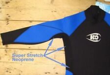 Mens 7mm full length wetsuit Semi-Dry Wetsuit H2Odyssey Cold Water Wetsuit