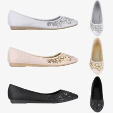 Women Ladies Vintage Pointed Glitter Bridal Ballerina Pumps Cut Out Ballet Flats