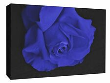 - Blue Rose Flower Wall Hanging Picture Roses Flower Canvas Print  A1/A2/A3/A4