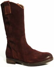 Alberto Fermani FE2011 women's ankle boots leather suede luxury Made in Italy