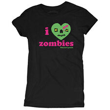 David and Goliath I Love Zombies Womens T-shirt