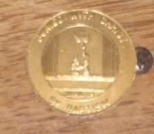 """1-1/2"""" DIAMETER MEDALLION ROMANS 6:4 SO THAT WE TOO MIGHT WALK IN NEWNES OF LIFE"""