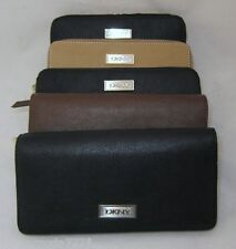 DKNY Luster Leather Classics Bag Wallet Purse Organizer Wristlet Authentic New