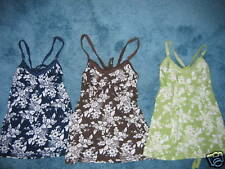 NEW ABERCROMBIE & FITCH WOMEN XSMALL/SMALL FLOWER TOP-GREAT LOOK- COMFY VACA!!!