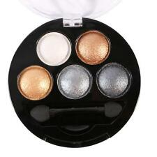 New 5 Colors Eye Shadow Makeup Cosmetic Shimmer Matte Eyeshadow Palette Set Kit