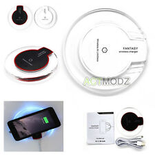 Genuine Wireless Charger Qi Charging Pad Dock & Receiver For Samsung iPhone HTC