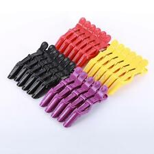 6 Pcs Hairdressing Salon Clamps Section Hair Clip Grip Beak Hair Clips Accessory