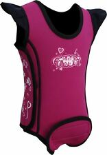 TWF Baby Wrap Wetsuit  -  Heart Pink 2016