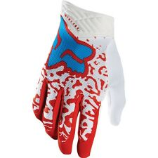 2016 FOX RACING MENS ADULT MX ATV RIDING RED CAUZ AIRLINE RIDING RACE GLOVES