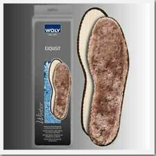 Woly Exquisit Exclusive lamb's wool insole for winter warmth for Shoes & Boots