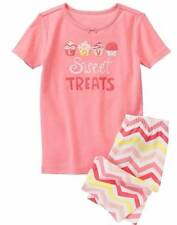 NWT Gymboree Girls Sweet Treats Shortie Gymmies Pajamas PJ's Size 6 7 & 8