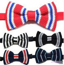 10X Wholesale NEW Mens Classic Knit Knitted Bow Tie Bowtie Wedding Woven JB0010