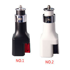 2-in-1 Dual USB Port Car Charger 2x2A Fast Charging with Air Purifier