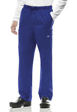 Galaxy Cherokee Workwear Premium Men 's Drawstring Cargo Scrub Pants 4243 GABW