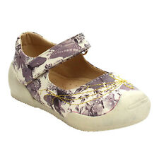 FLORICIENTA GABY-01I Toddler Girl's Mary Jane Floral Pattern Comfort Flats
