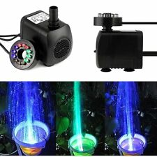 New 800L/H Submersible Aquarium Fish Tank Fountain Pond Water Pump 220-240V